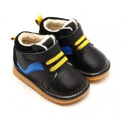 Freycoo - teplé kožené topánky