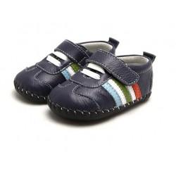 Topánky Freycoo s koženou podrážkou Izzy
