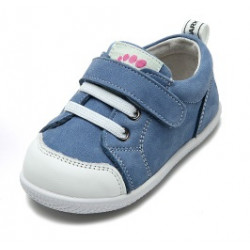 Freycoo - kožené topánky Andy modré