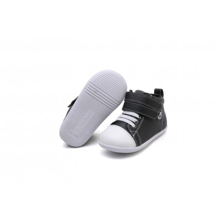 Freycoo - zateplené kožené topánky Sydney čierne